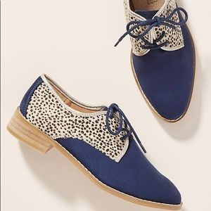 ISO! Vanessa Wu Leopard Oxfords Size 41